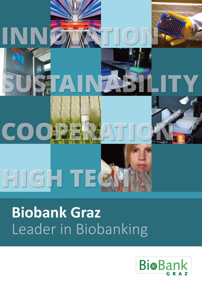 Biobank Graz booklet cover