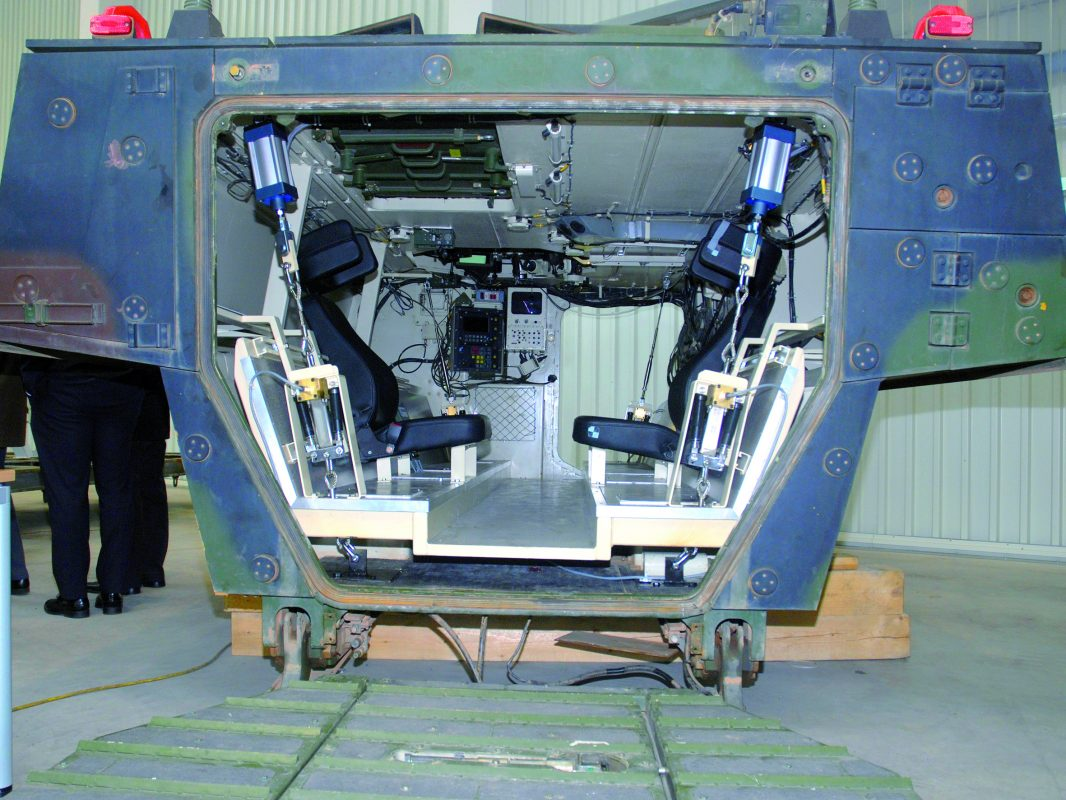 Zero Shock® system integrated into a vehicle body