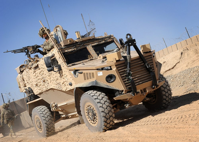 Innovative technology for armoured vehicles for the frontline