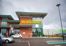 Sales fall for supermarket chain Morrisons