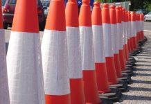 cones roadworks
