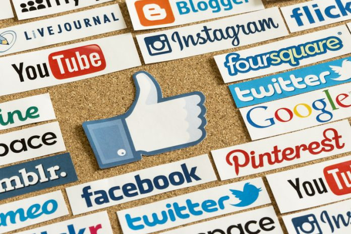 Privacy protection on internet social media logos