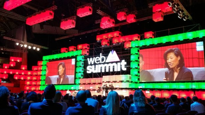 Eileen Burbidge Donald Trump reaction Web Summit 2016 Lisbon