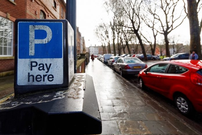 Council parking pay and display