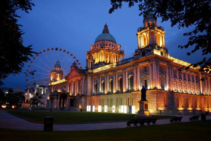 UK-Irish agreement Belfast City Hall