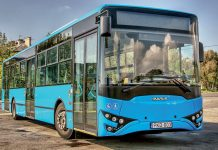 PAN-LNG project bus Hungary