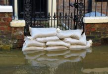 UK flood policy sandbags York