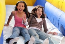 girls on slide adolescent experiences influence adulthood