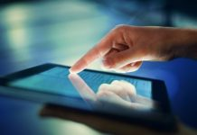 Using digital public services on tablet