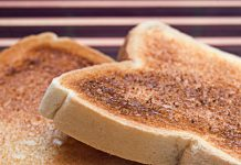 risks to eating crispy roast potatoes and browned toast