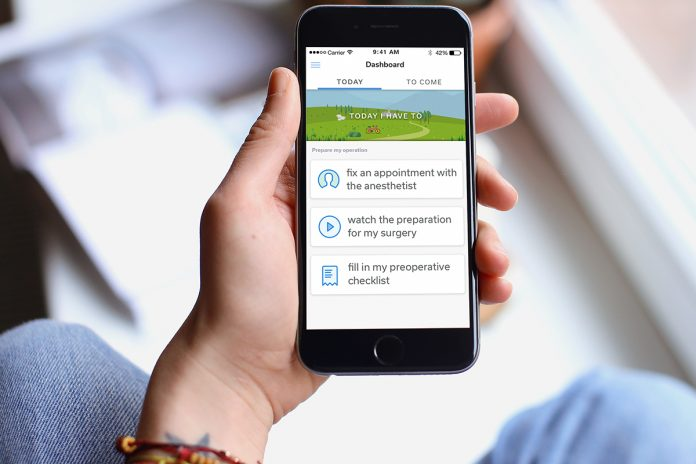 smartphone app for remote patient monitoring