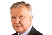 health technology Finland former minister Olli Rehn