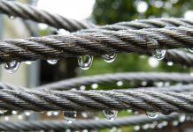 Steel rope engineering materials water impact