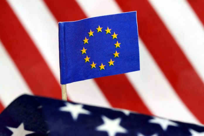 EU US flags horizon 2020 opportunities