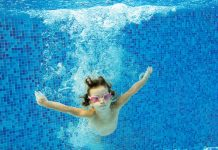 sustainable healthy lifestyles swimming child