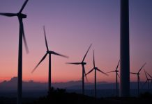sustainability through technology wind farm
