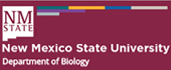 Department of Biology New Mexico State University