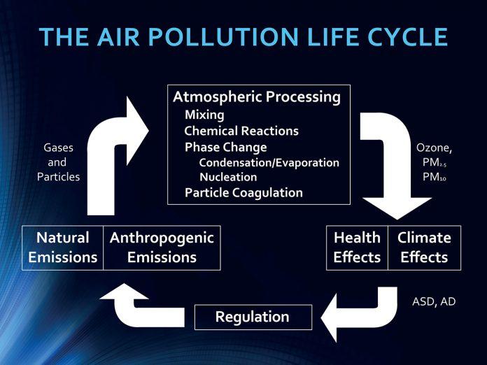 air pollution on the brain