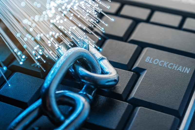 blockchain in security