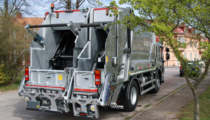 MF Series refuse collection vehicle