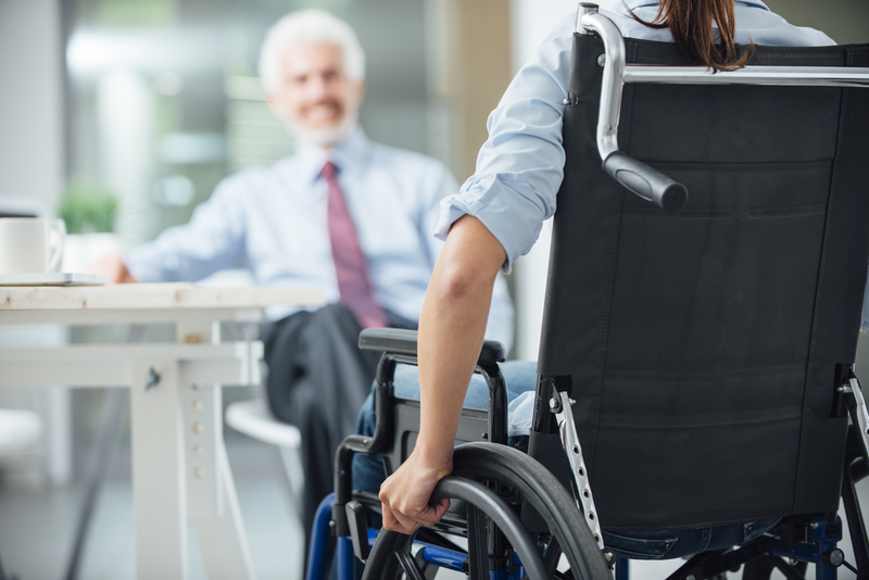 disabled people in canada's workplace Only half of disabled canadians have a full or  businesses tend to equate disability with injury or workplace accident  chretien slams canada's.