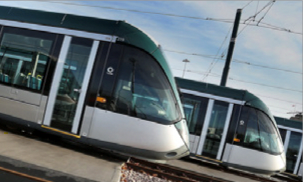 Nottingham Tram is heading in the right direction