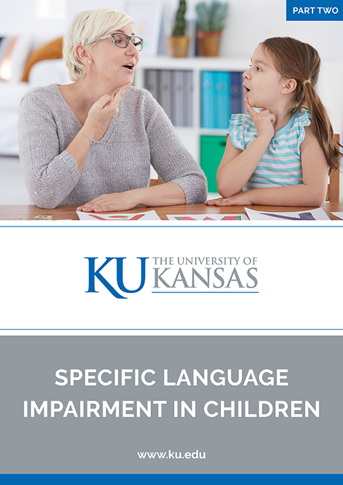 specific language impairment (SLI) in children