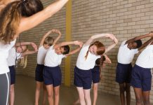 exercise at school