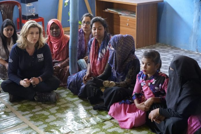 one million Rohingya refugees, communities in Cox's Bazar