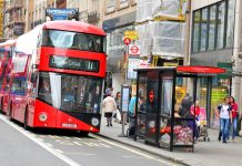 low emission buses