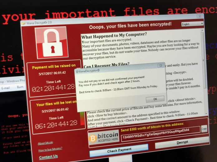NHS email system, wannacry