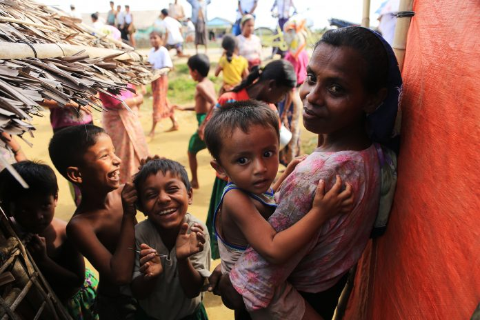 Uk aid to rohingya, Cox's Bazaar