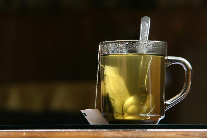 calming properties, green tea