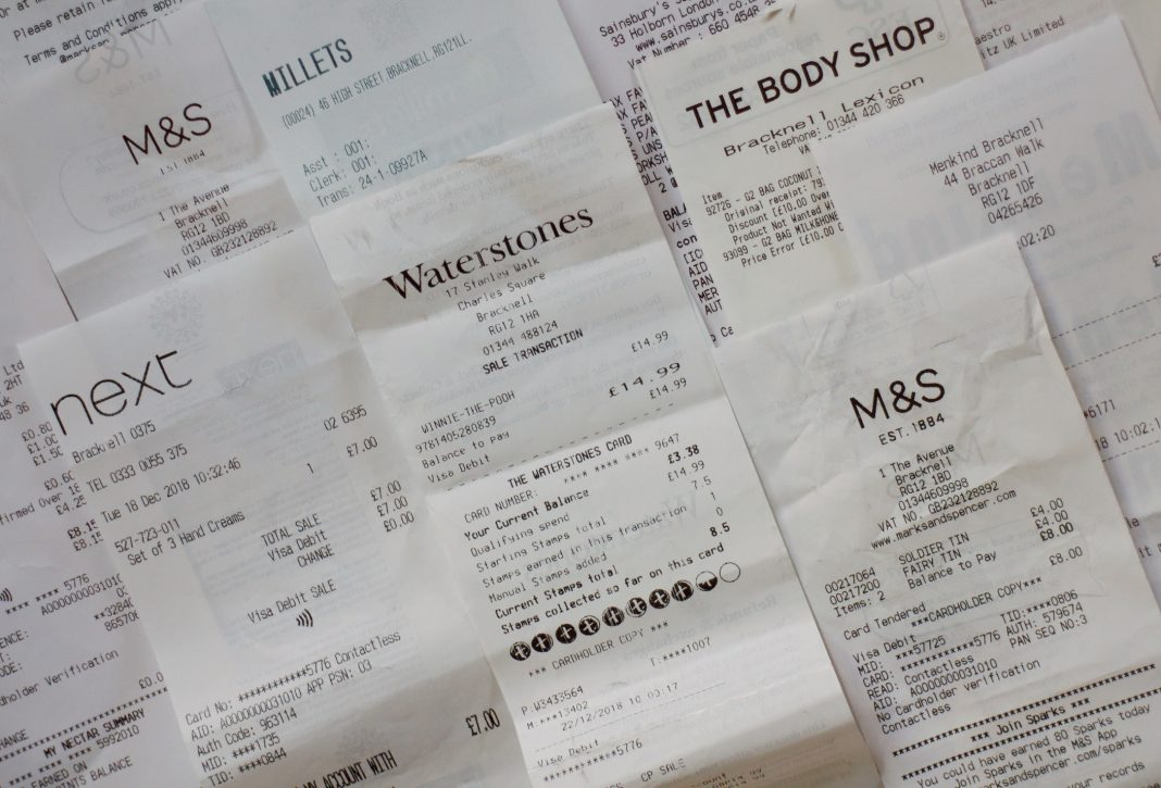 Could artificial intelligence bring the end to using paper receipts?