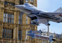 arms sale to saudi arabia, bombing in yemen