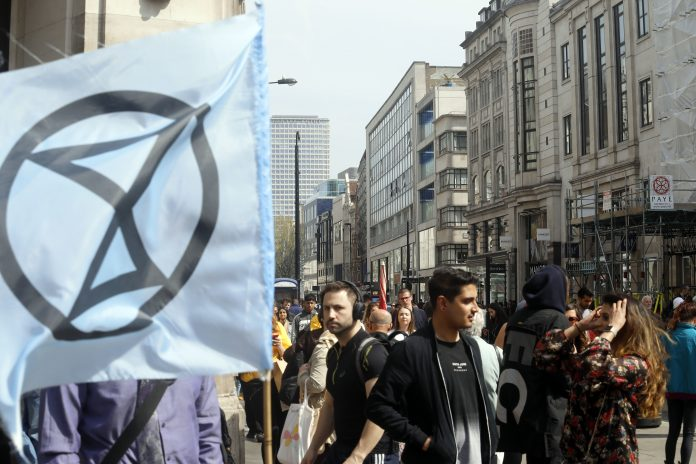 declaring climate emergency, extinction rebellion