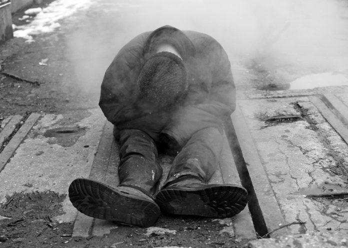 living with mental illness, rough sleepers