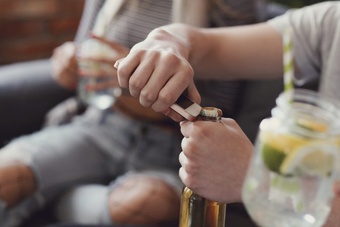alcohol use by children, children's behaviour