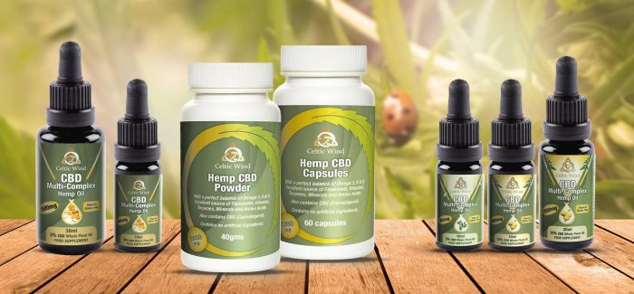 CBD Products from Celtic Wind Crops