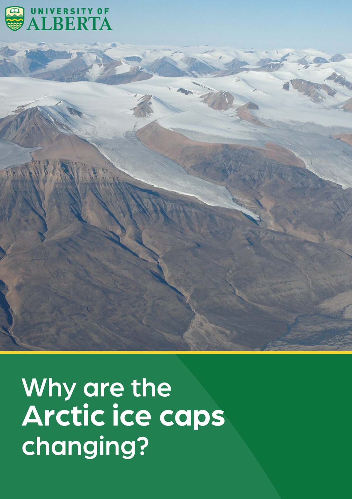 arctic ice caps are changing