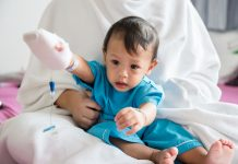 link to leukaemia, children with down's syndrome