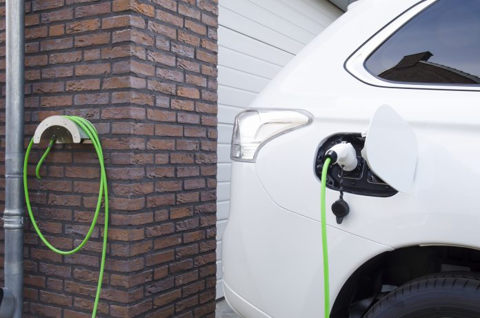 electric car chargepoints, new-build homes