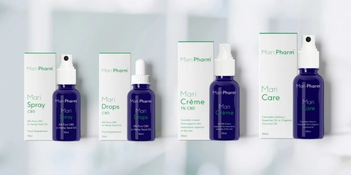 MariPharm CBD oil products