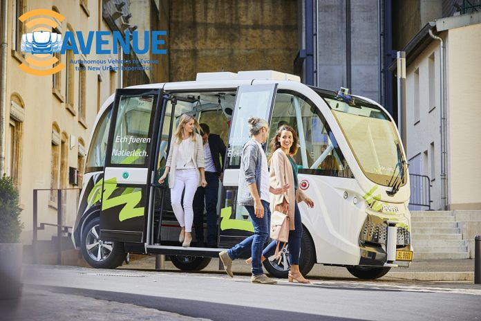 future public transportion, AVENUE H2020