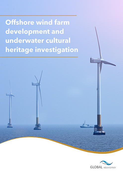 Offshore wind farm development and underwater cultural heritage investigation