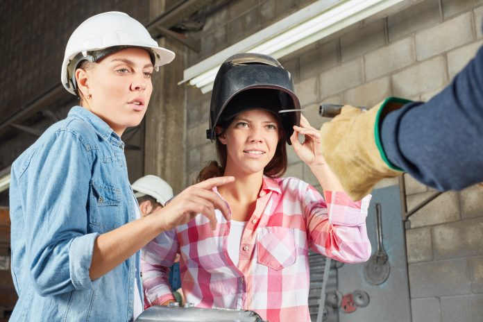 women into welding