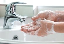 Hand hygiene training