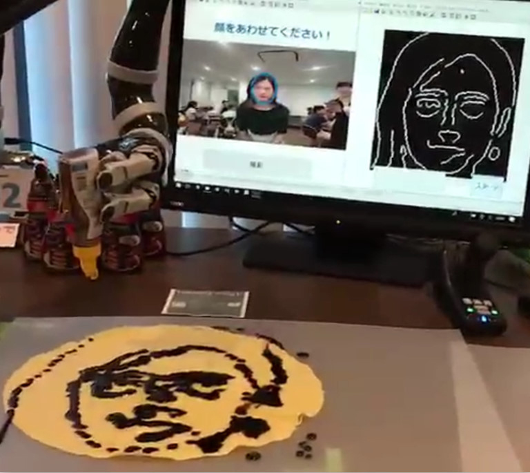 multi-robot café