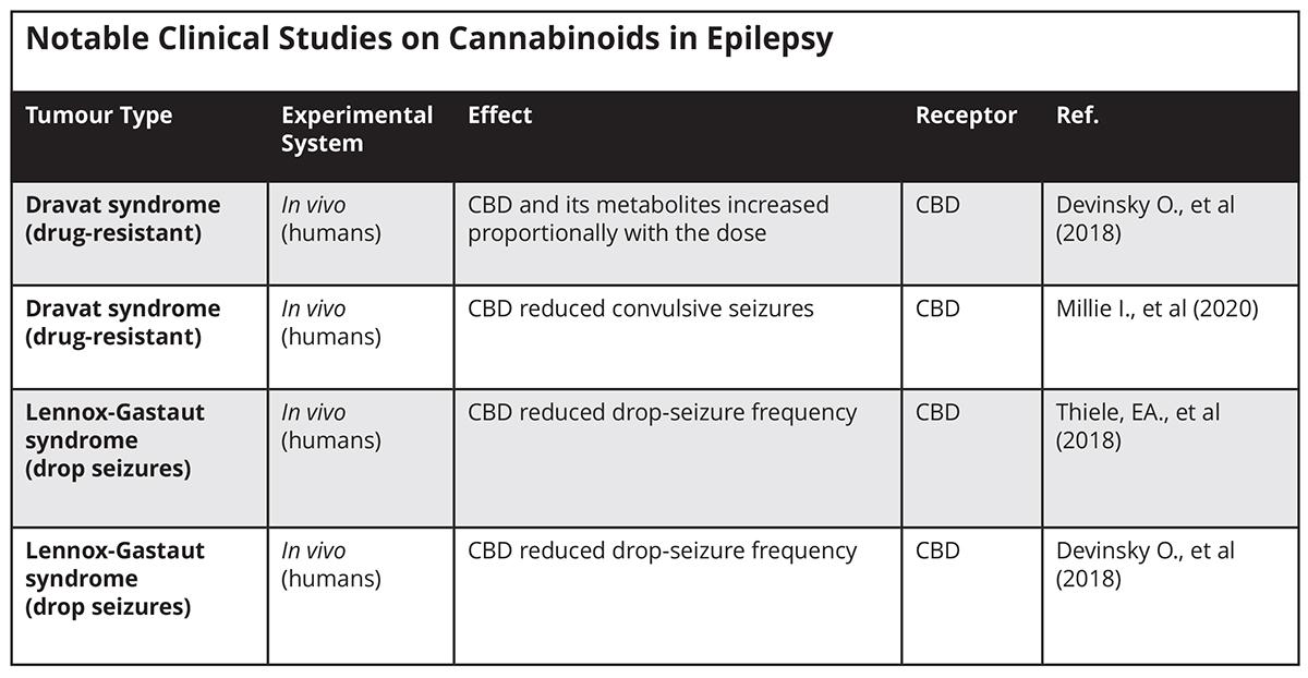 cannabinoids in medicine, epilepsy