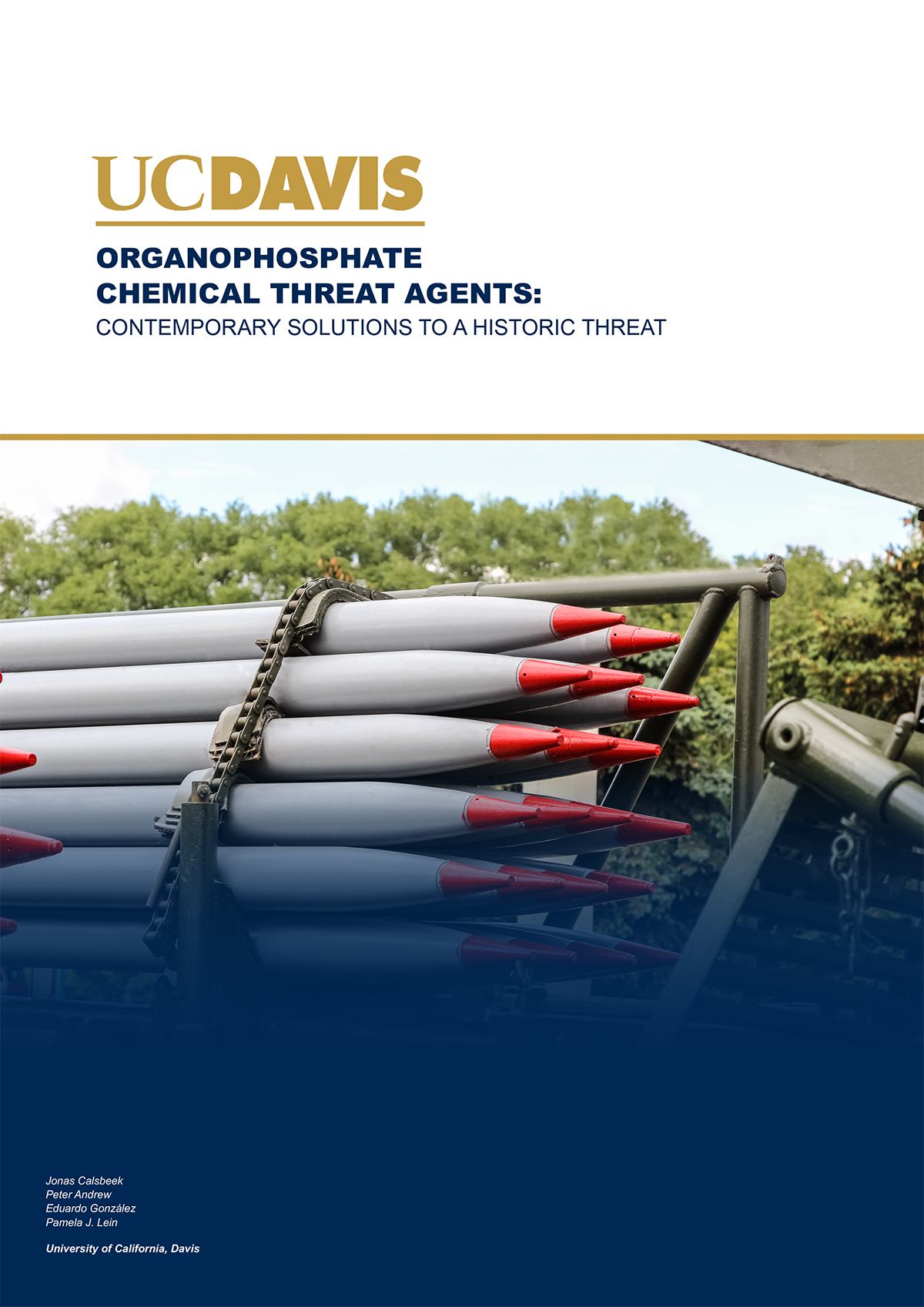 Organophosphate Chemical Threat Agents, neurotoxicology